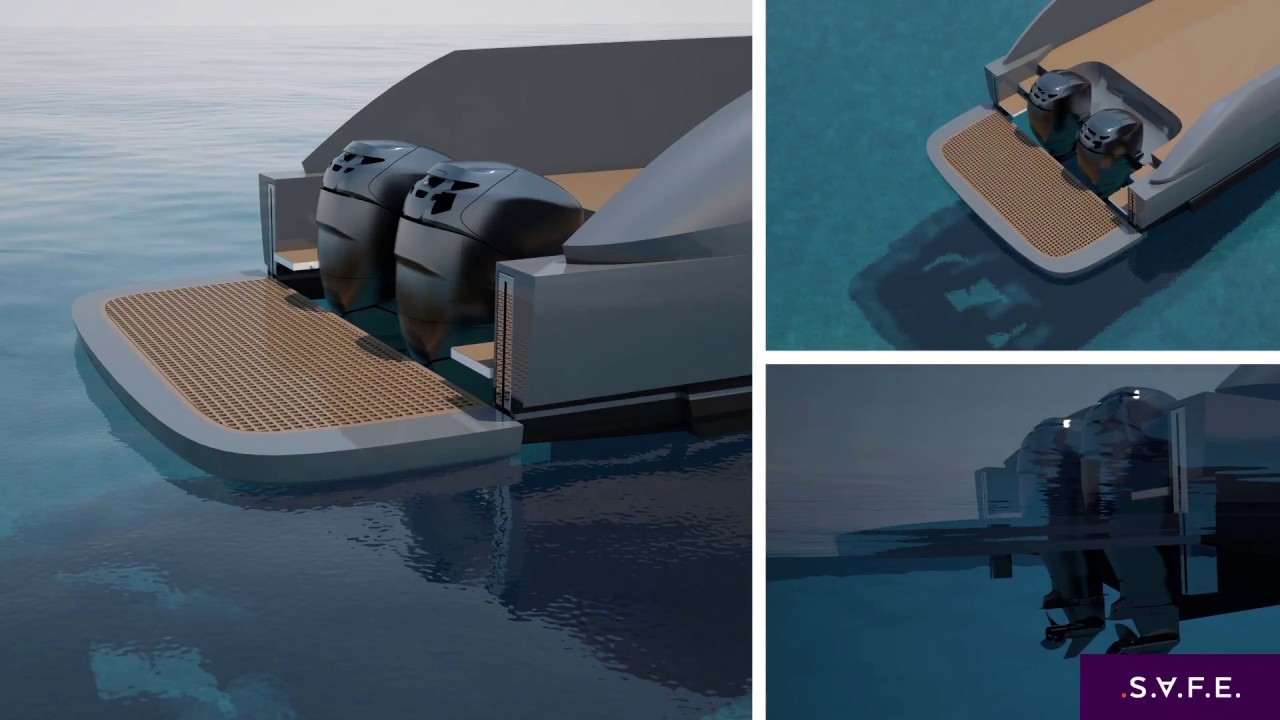 S A F E  - High-Low Platform for outboard-powered boats