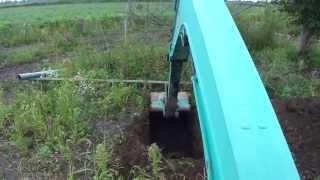 Repeat youtube video ユンボで浅井戸を掘ってみる実験