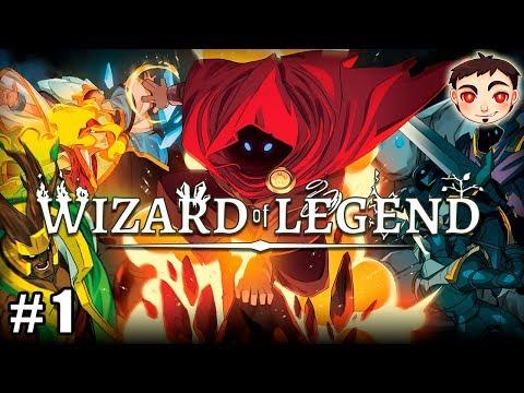 ¡COMBATES RÁPIDOS, MÁS DE 100 HECHIZOS, Y ROGUELIKE! - Wizard of Legend
