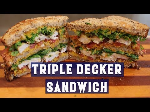 Macro Friendly Monday Ep. 2 | Triple Decker Sandwich Black Pepper Chicken & Roasted Carrot Hummus
