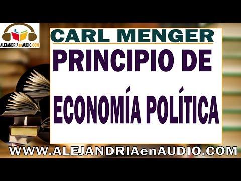 Principios de economia politica - Carl Menger |ALEJANDRIAenAUDIO