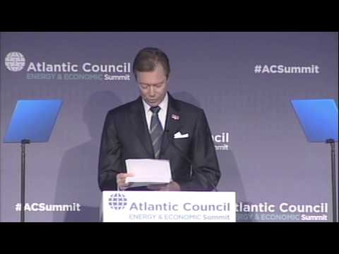 Opening of the 5th Atlantic Council Energy & Economic Summit
