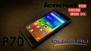 видео Lenovo P780 – обзор смартфона с аккумулятором на 4000 мАч