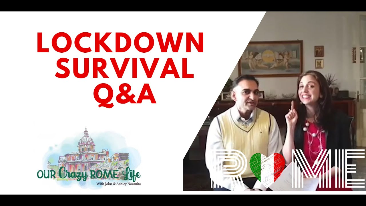 Help! Live Lockdown Q & A from Rome