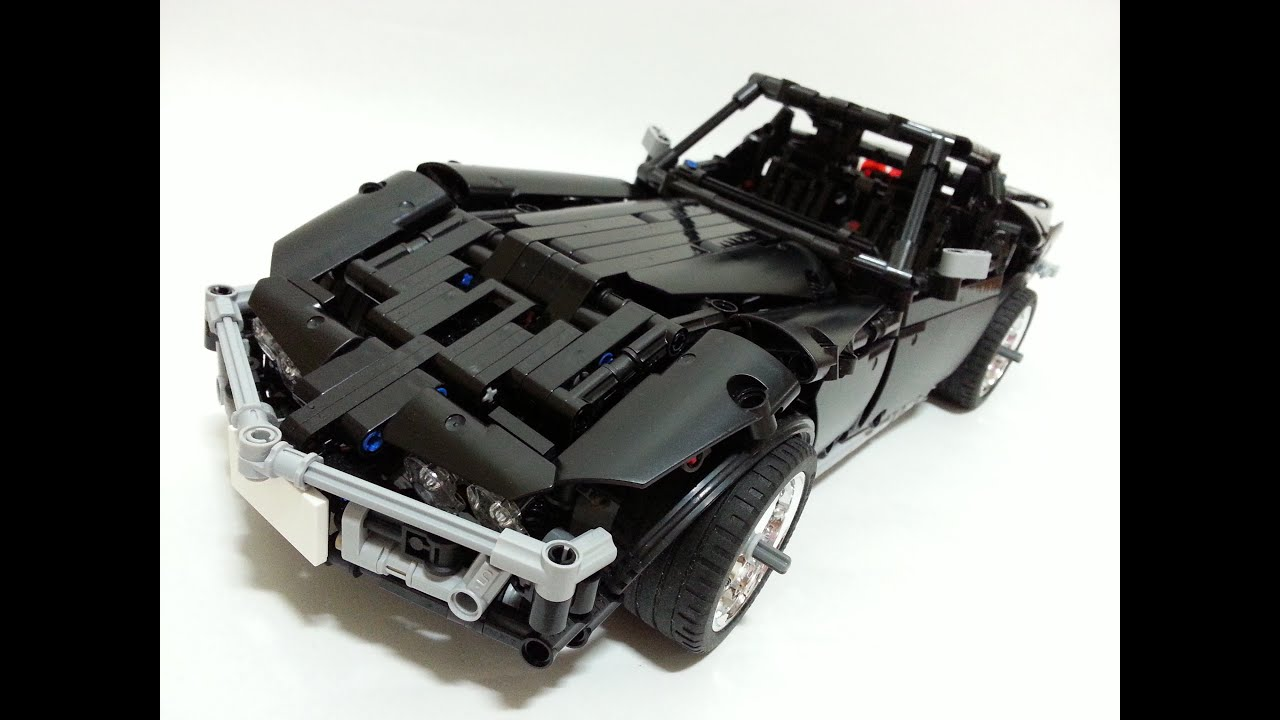 lego technic corvette by madoca1977 time lapse build. Black Bedroom Furniture Sets. Home Design Ideas