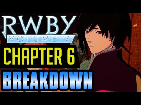 """RWBY Volume 7 Chapter 6 """"A Night Off"""" BREAKDOWN"""
