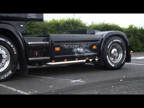 Scania 164L V8 580 Transports Durand