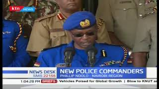 IG Boinnet introduces new regional police commanders in line with new police reforms