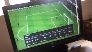 Comment marquer un but avec Messi du pied droit