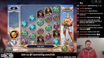 €4000 Start! High stakes slot action! share your highlights on Casinoring.com