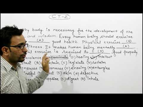 Cloze Test for SSC and BANK (C. T. -2)