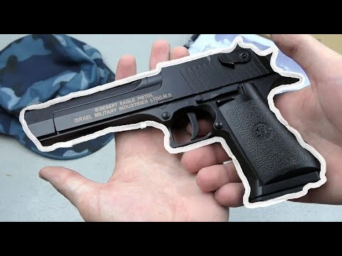 Игрушечный пистолет с пульками Desert Eagle