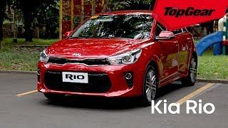 The Kia Rio drives as well as it looks