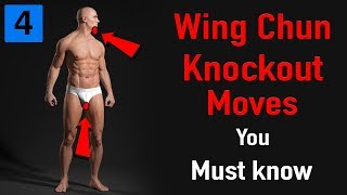 Wing chun knockout moves you must know
