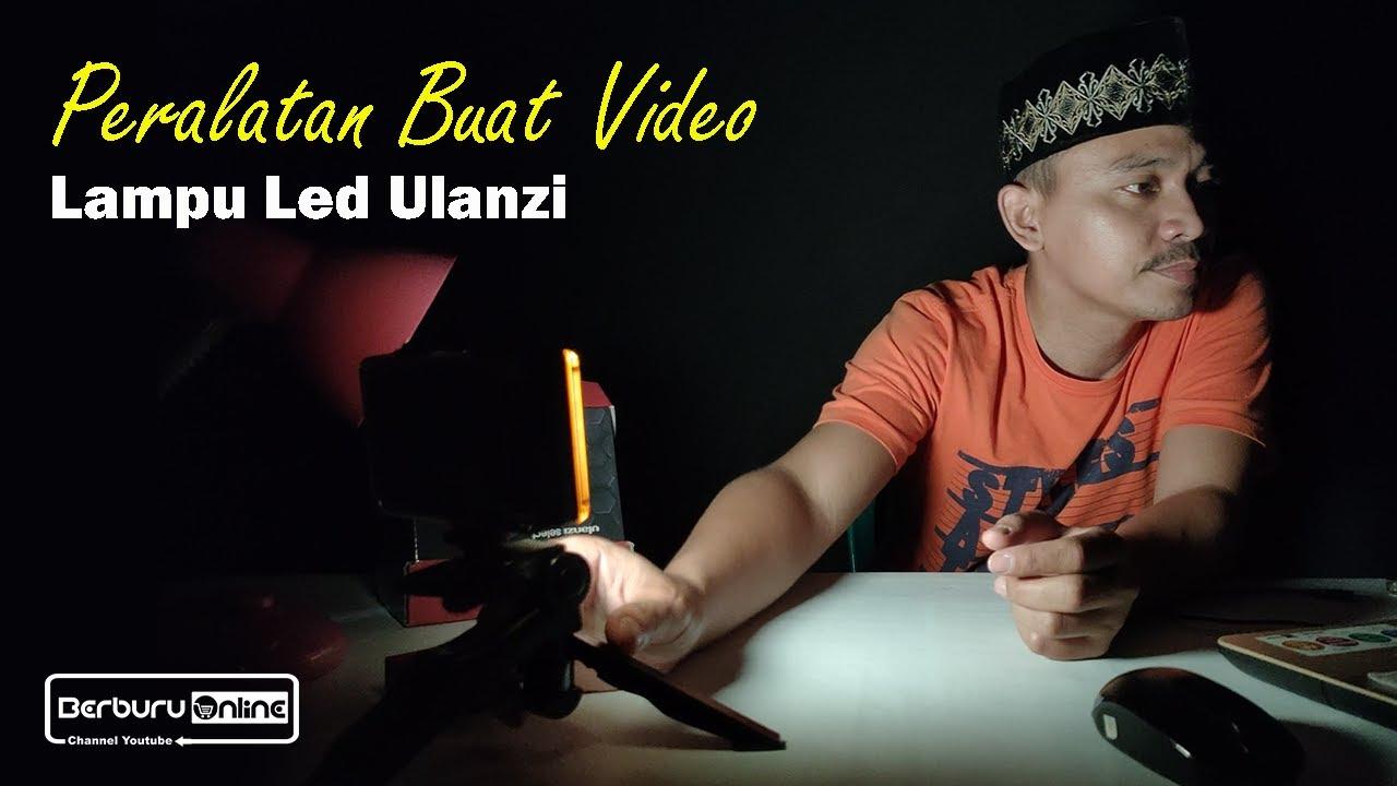 Review Lampu LED ULANZI Untuk Bikin Video Youtuber Pemula