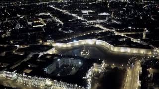 Ночной Санкт-петербург с квадрокоптера Аэросъемка Aerialrussia(, 2016-05-23T16:04:42.000Z)