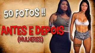 ANTES E DEPOIS DA ACADEMIA (MULHERES) «50 Fotos»