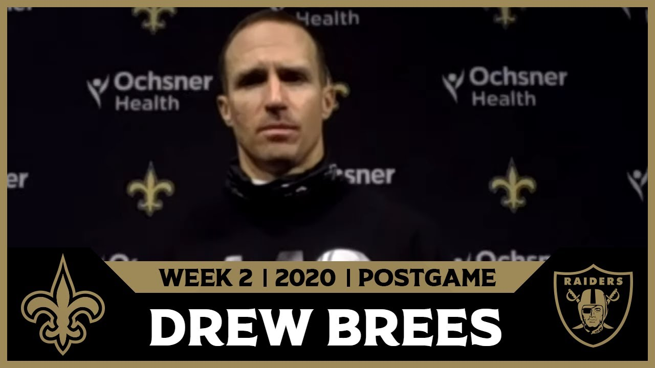 Postgame Transcripts: Week 2 vs. New Orleans Saints