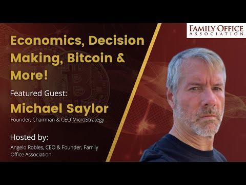 Michael Saylor on Economics, Bitcoin and Decision Making
