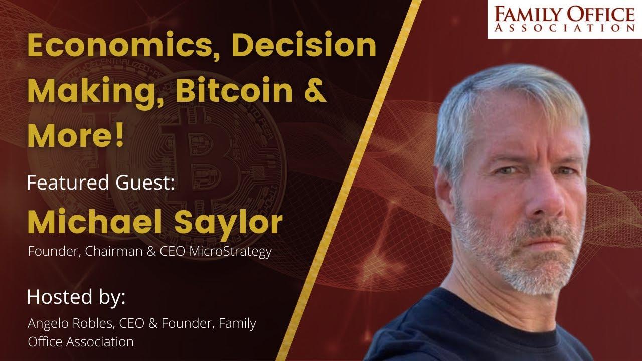 Download Michael Saylor on Economics, Bitcoin and Decision Making