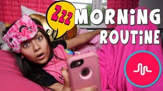 Morning Routine - Addicted to Musically Skit : Mercedes World // GEM Sisters