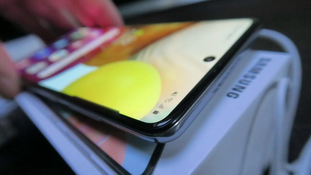Samsung Galaxy A71 Review în Limba Română (Telefon quad-camera cu ecran mare, corp compact)
