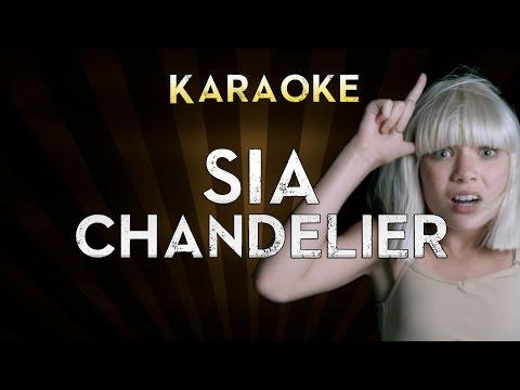 Sia - Chandelier | Lower Key 4 (Gb) Karaoke Instrumental Lyrics Cover Sing Along