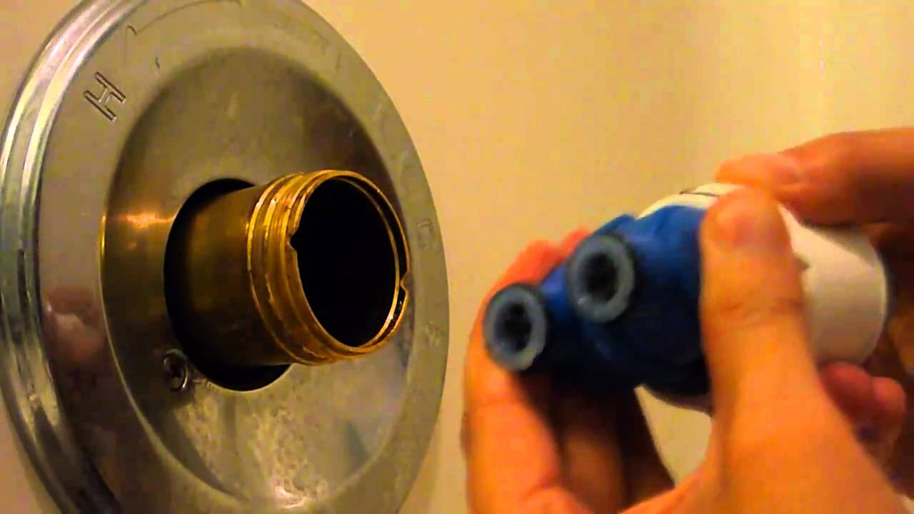 Dismantling a Delta 1400 Series Bathtub Faucet or How to Fix a Leak in Five Minutes  YouTube