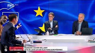 Le Grand Oral de François-Xavier Bellamy (Partie 2) - Les Grandes Gueules de RMC
