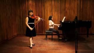 Bruch, Violin Concerto No. 1 in G minor, Op. 26(Lynn Nam 11year old )