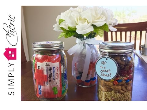 Back to School: 3 Simple Teacher Gift Ideas in Mason Jars {Ep  3 of 4}
