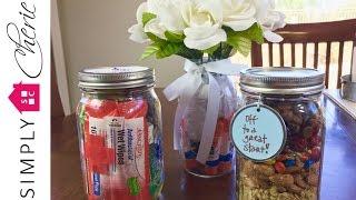 Back to School: 3 Simple Teacher Gift Ideas in Mason Jars {Ep. 3 of 4}