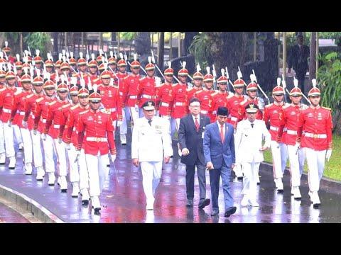 Presiden Jokowi Melantik Gubernur dan Wakil Gubernur Maluku 2019-2024, Istana Negara, 24 April 2019