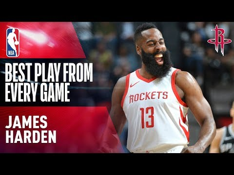 James Hardens BEST PLAY from Every Game | Houston Rockets 2017-2018