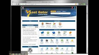 How to add an addon domain to Hostgator