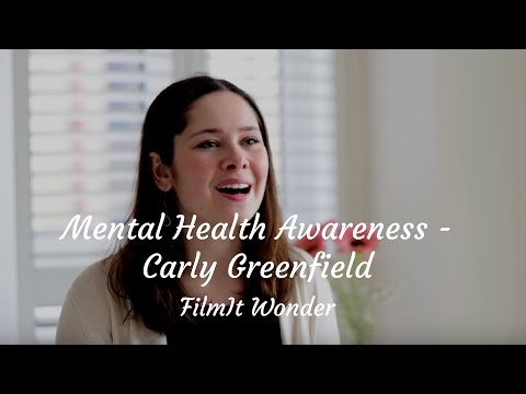Conversations with Carly Greenfield about Mental Health Awareness