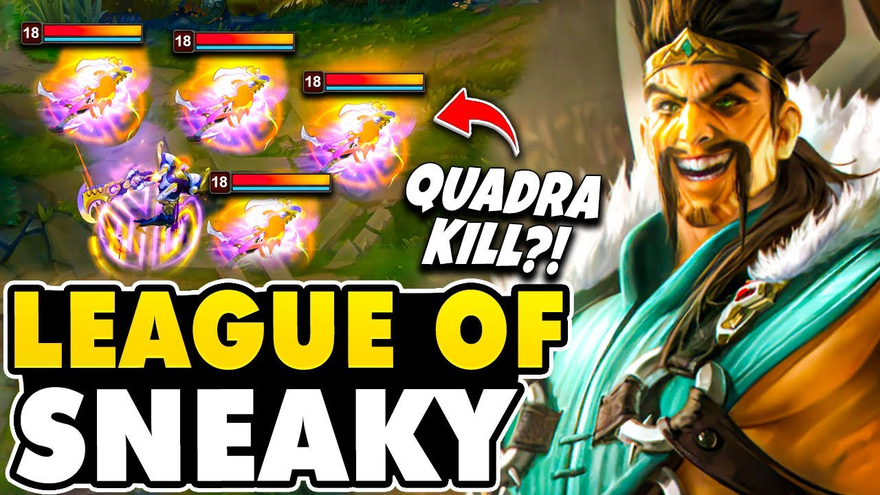 Download Draven Welcomes You To The LEAGUE OF SNEAKY! (Insane Quadra Kill)