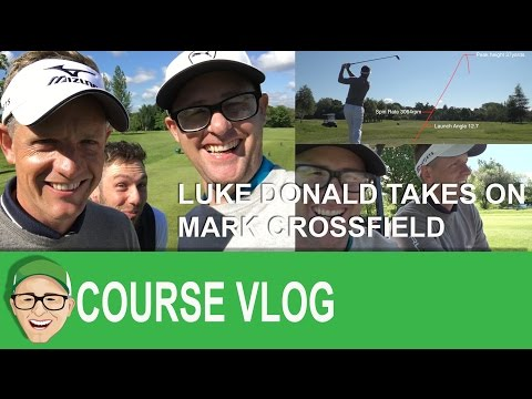 Luke Donald Takes On Mark Crossfield