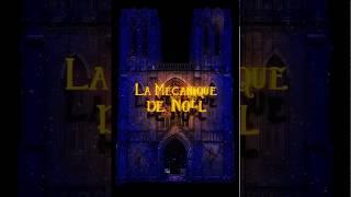 """Teaser du mapping vidéo """"La Mécanique de Noël"""""""