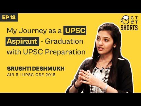 My Journey as a UPSC Aspirant – Graduation with UPSC Preparation – IAS Srushti Jayant Deshmukh