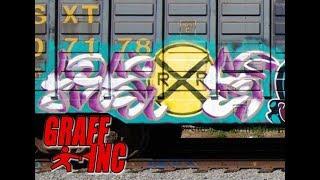 Mers CBS - Los Angeles Graffiti Artist Painting a Train - GraffHead