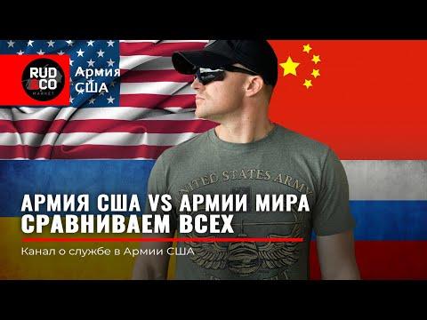 АРМИЯ США vs АРМИИ МИРА. Сравниваем всех. Россия | Китай | Украина | Иран | Ирак | Руденко | Rud&Co