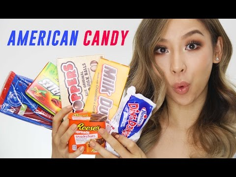 Australian Girl Tries American Candy & Snacks | TINA TRIES IT