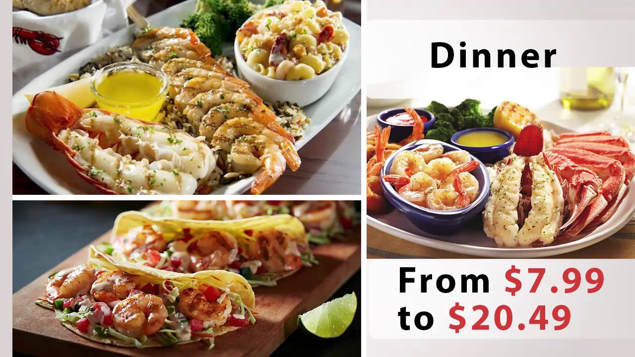 photo about Red Lobster Printable Menu identified as Purple Lobster menu rates