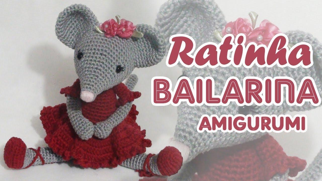Yine Bir Amigurumi Angelina Ballerina | Crochet mouse, Angelina ... | 720x1280
