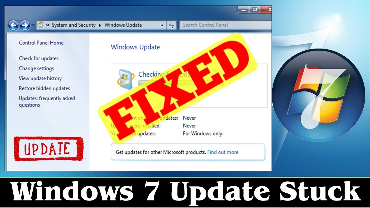 [FIXED] Microsoft Windows 7 Update Fix Stuck Problem Issue ...