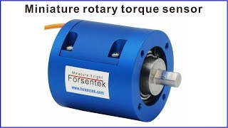 Miniature rotary torque sensor Torque measurement transducer