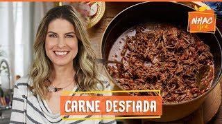 Carne De Panela Desfiada Aprenda A Fazer Receita Versatil E DEL C OSA  Rita Lobo  Cozinha Pratica
