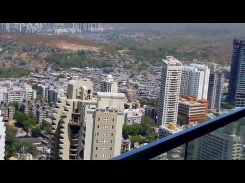 Panoramic view of North Mumbai from Oberoi Exquisite