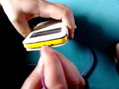 1m Noodle Appearance Design Micro USB  viola